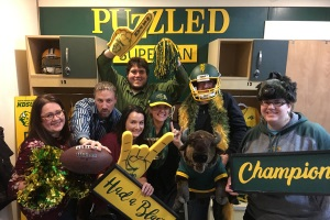 NDSU Bison Fan Cave, a Downtown Fargo Escape Room